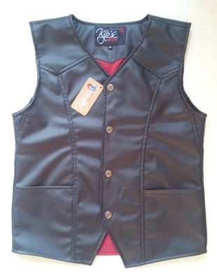 VKC100, Classic Motorcycle Vest 01