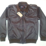 Jaket Kulit Neck Covered, JKN100