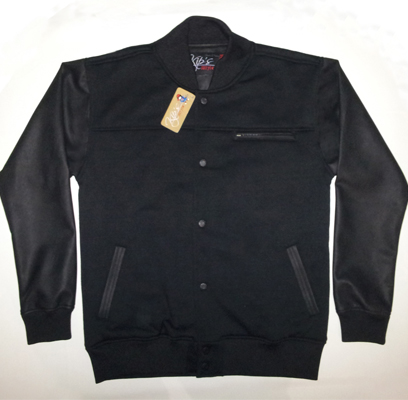 Jaket Kulit Base Ball BB6, JKB300