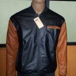 Jaket Kulit Varsity BB2, JKB003