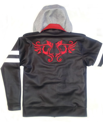 Jaket Prototype Double Fleece +Hoodie, JKP101