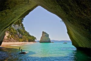 15 Lengkungan Batu Laut menakjubkan, Cathedral-Cove