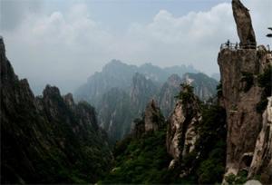 Keajaiban Alam, Gunung-Huangshan