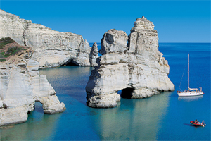15 Lengkungan Batu Laut menakjubkan, Kleftiko-Beach