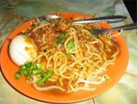 Makanan Indonesia, Mie-Lendir