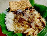 Beberapa Makanan Indonesia, Nasi-Kentut
