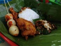 Makanan Indonesia, Nasi-Kucing