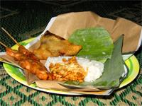 Beberapa Makanan Indonesia, Nasi-Kucing