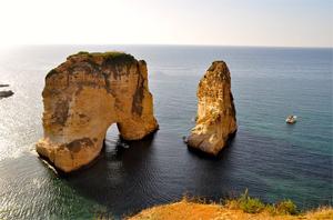 15 Lengkungan Batu Laut menakjubkan, Pigeon-Rocks