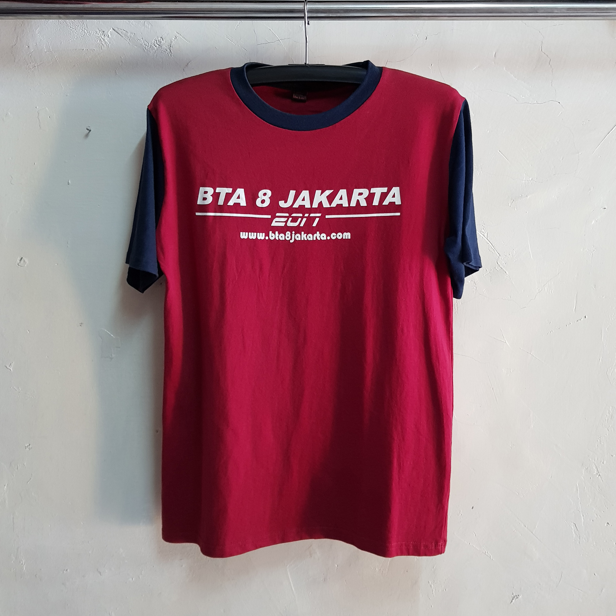 Seragam Kaos Kelas, T-Shirt College BTA8 | Kips Style
