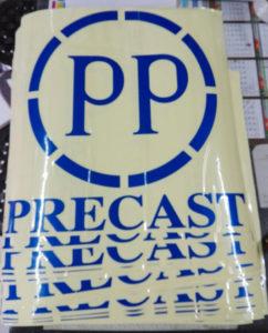 Order Cutting Sticker