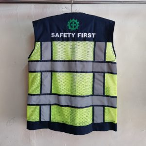 Seragam Rompi Safety Kanvas