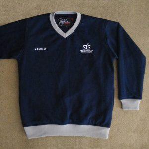 Full Cotton V-Neck Sweater