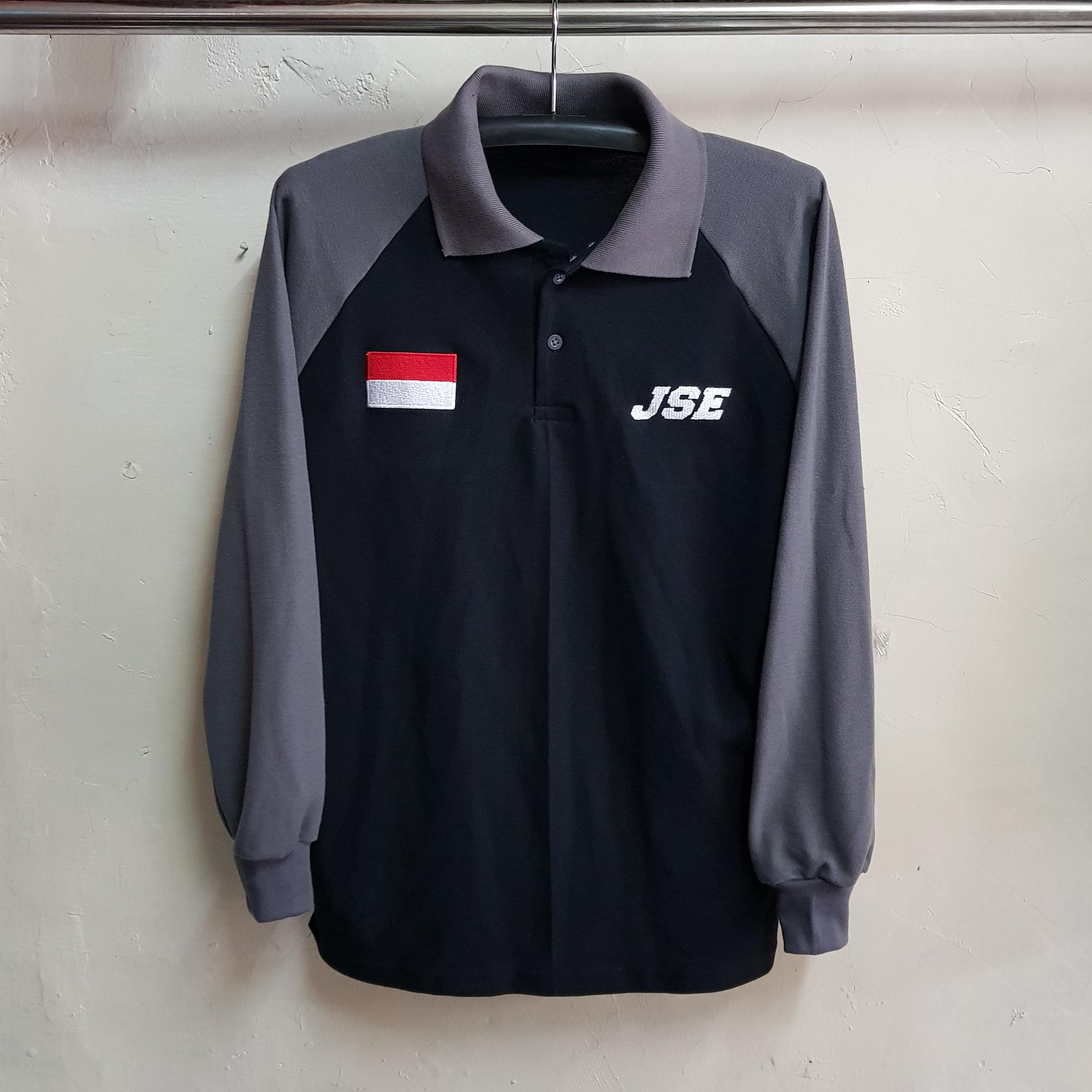 Poloshirt Raglan JSE, Seragam Kaos Kerah