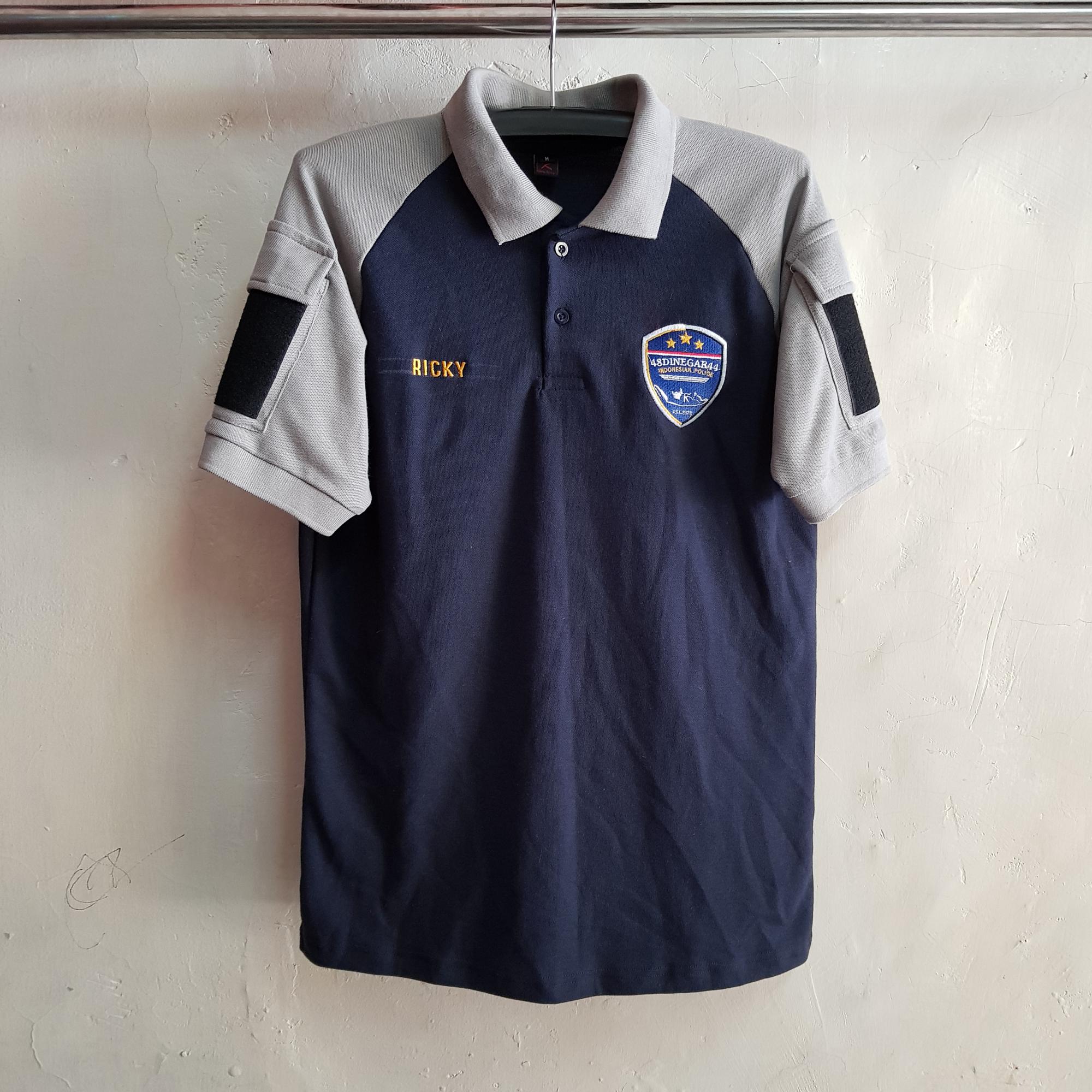Poloshirt Raglan Namek, Seragam Kaos Tactical