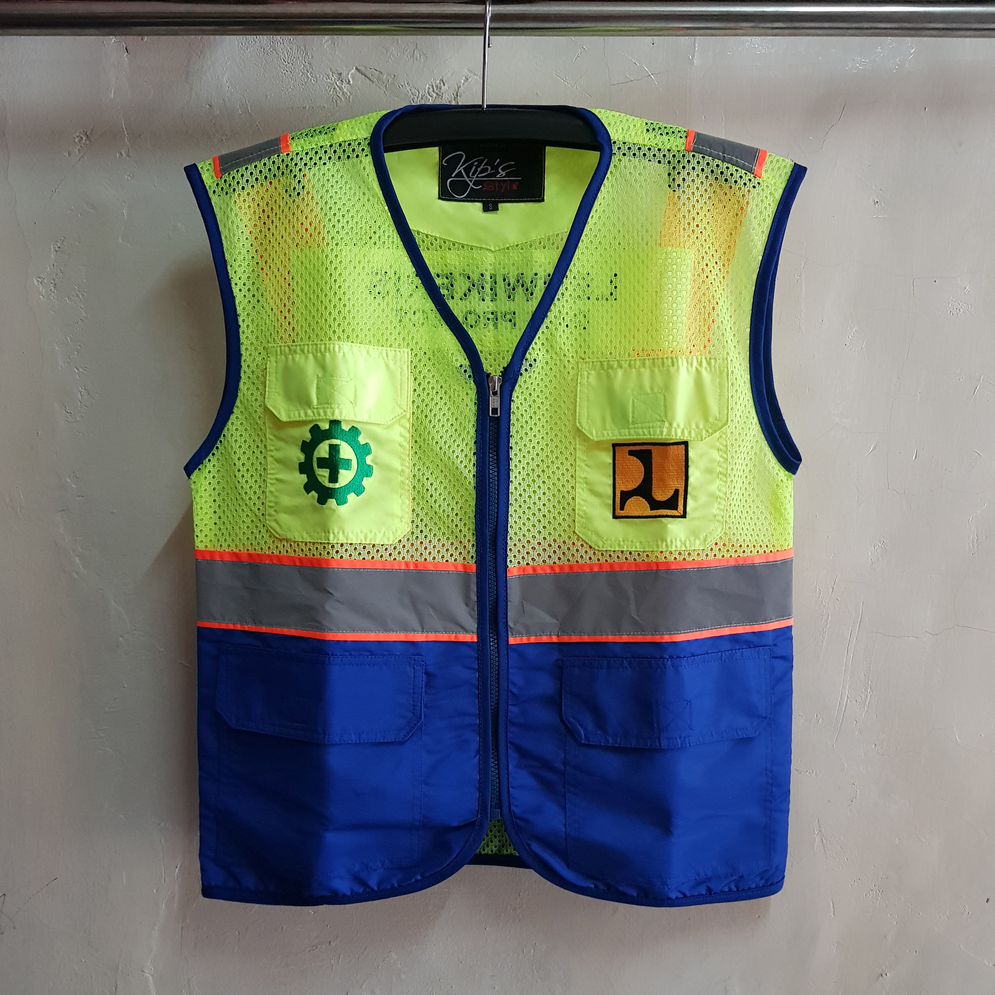 Rompi Taslan dan Jala, Seragam Safety PU