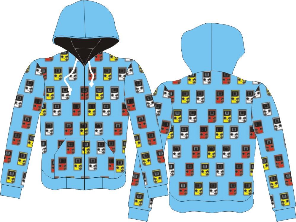 Sweater Full Print, Seragam Sweater HP