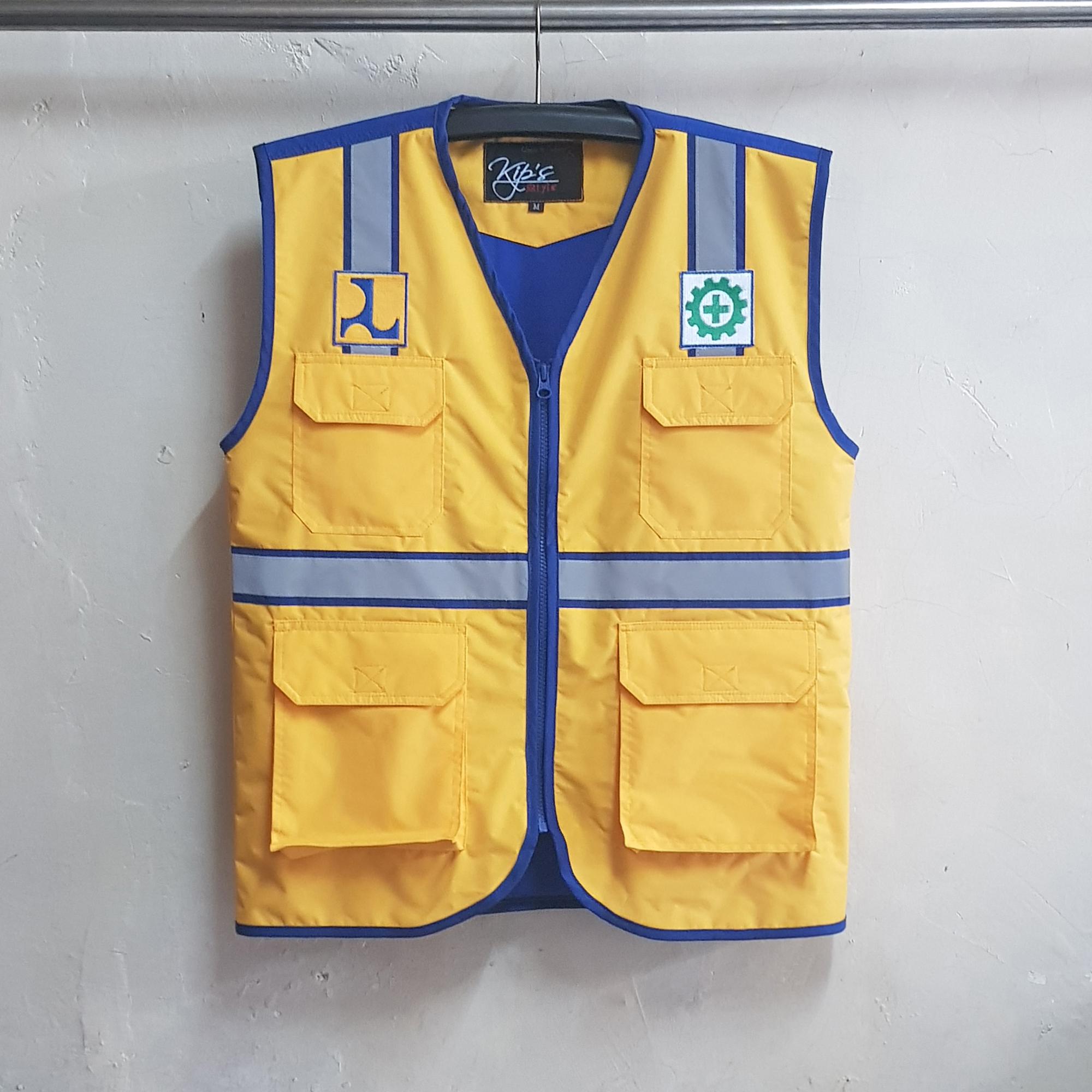Rompi PU Ditjen Bina Marga, Rompi Safety WP